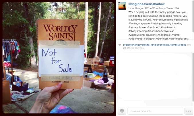 Worldly Saints--IG